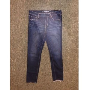 American Eagle Skinny Jeans size 14 short SS